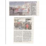 <b>Presse Journée du triple C : Contre la Création du Chômage,  5-2-2012 </b> <br />